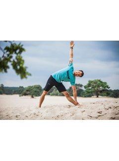 Renegade Guru Yoga T-shirt Moksha -  Sea Green
