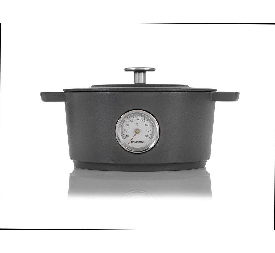 Dutch Oven Thermometer 24CM Concrete