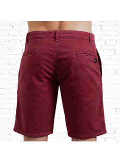 The Driftwood Tales The Driftwood Tales Chino short - Biologisch katoen - Rood