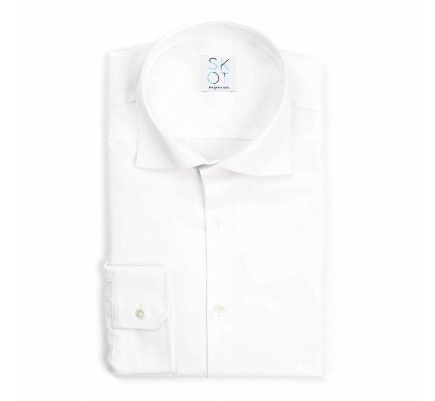 SKOT Fashion Serious White Oxford