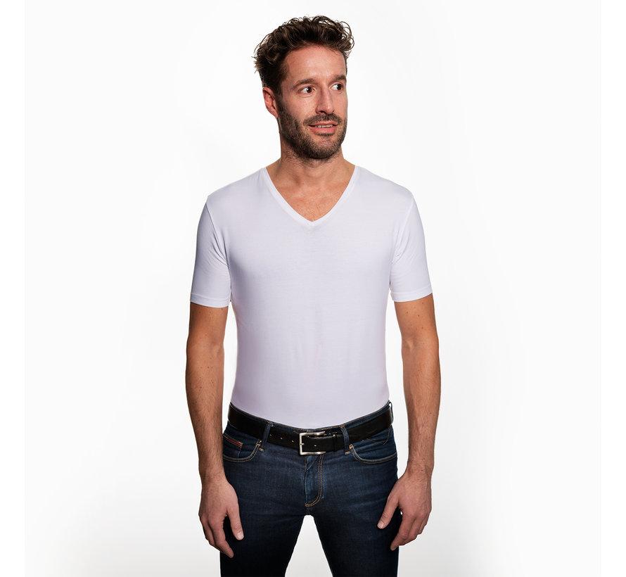 Duurzaam Basic Wit T-shirt (2 stuks)