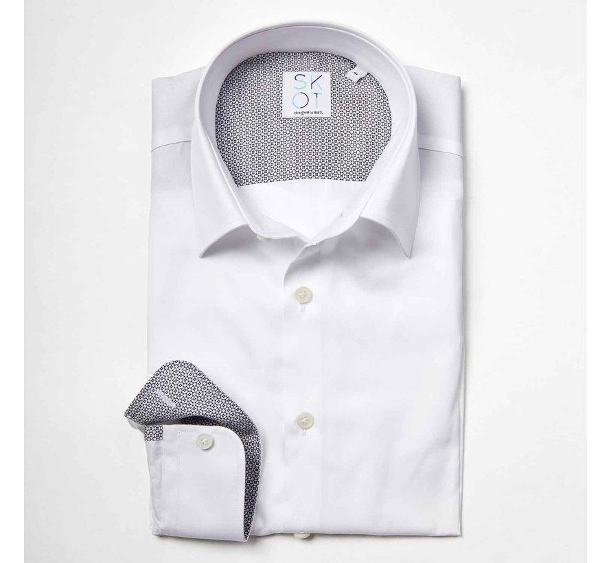 SKOT Fashion Shadow White Business Overhemd