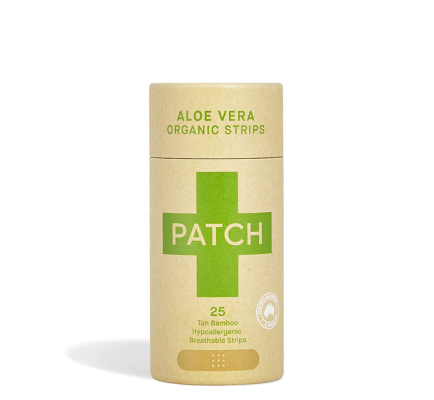 Patch Bamboe Duurzame Pleisters - Aloe Vera