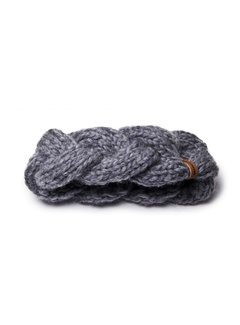 Granny's Finest Granny's finest hoofdband wol ali - grijs