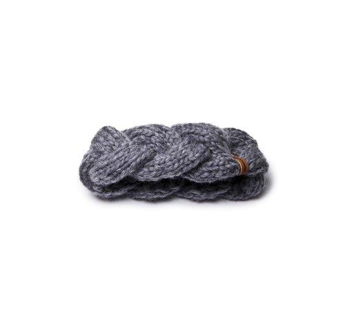 Granny's Finest Granny's finest hoofdband wol ali in grijs