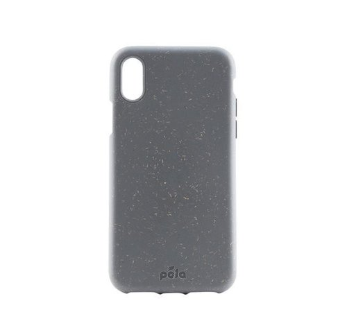 Pela Pela phone case, telefoonhoesje, Apple Iphone XS shark grey