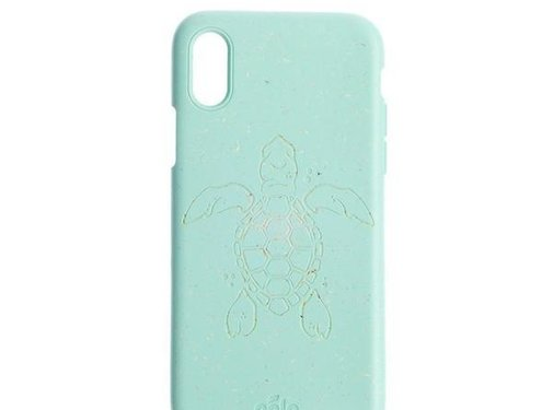 Pela Pela phone case Iphone XS Max Turtle Turquoise