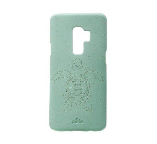 Pela Pela phone case, telefoonhoesje, Samsung S9 Max Turtle Turquoise