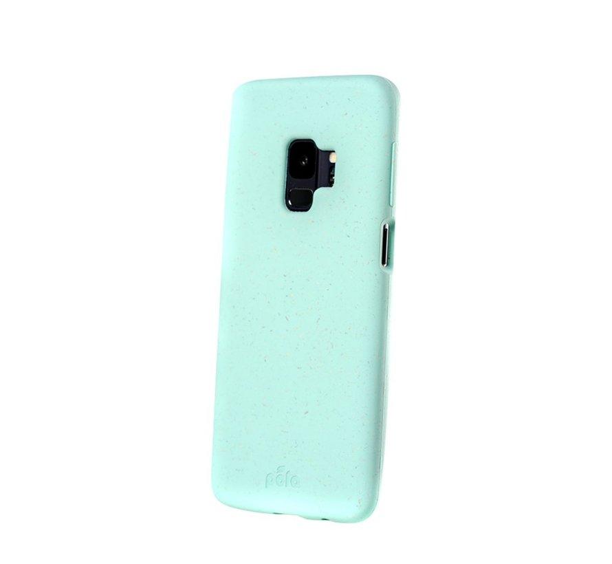 Pela phone case, telefoonhoesje, Samsung S9 Turquoise