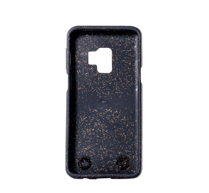 Pela phone case, telefoonhoesje, Samsung S9+ Zwart