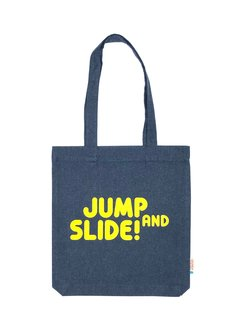 Chicken or Pasta Tas Jump and Slide - Navy