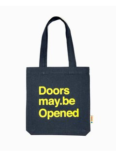 Chicken or Pasta Tas Doors may be Opened - Navy