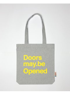 Chicken or Pasta Tas Doors may be Opened - Grey