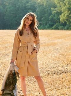 Lazy Label Kimonojacket brown