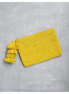 Phemke Resort Wear Gele Clutch
