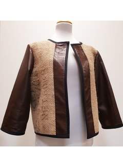 """Sylvia Calvo BCN Jacket - Sylvie """"Cuir"""""""