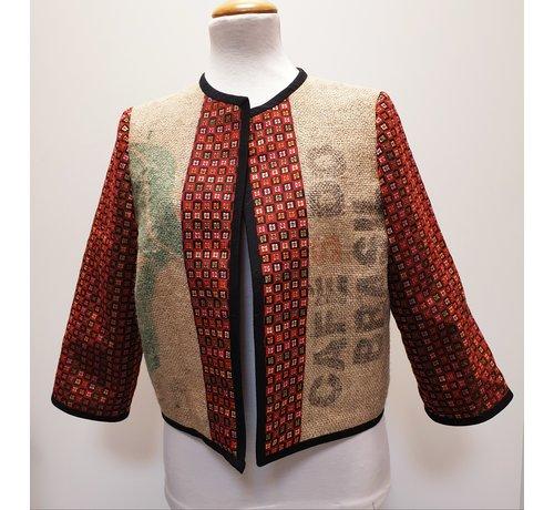 "Sylvia Calvo BCN Jacket- Sylvie ""Red"""