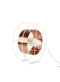 Tolhuijs Design Sta/Tafellamp - Spool Floor White