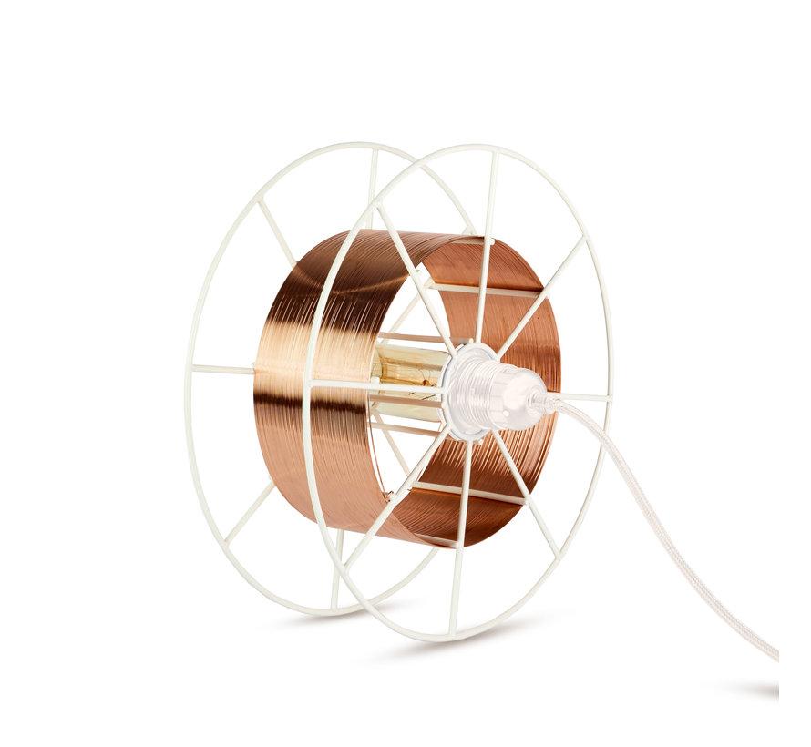 Sta/Tafellamp - Spool Floor White  in meerdere kleuren te verkrijgen