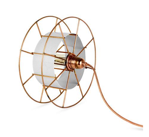 Tolhuijs Design Sta/Tafellamp - Spool Floor Basic in meerdere kleuren te verkrijgen