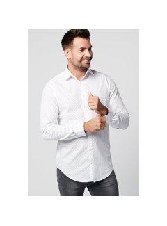 SKOT Fashion Duurzaam overhemd Spotted White