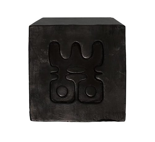 WOO WOO Charcoal Soap - Who's afraid of the Dark? Geur:  Black - Tranquility
