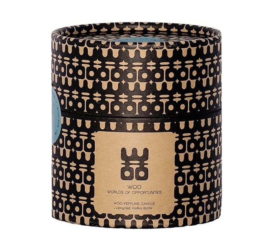 WOO Lucky Candle Gold Klein,  Geur:  Treasure