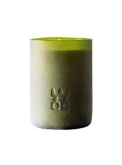 WOO WOO Lucky Candle Matt Green – XL  Geur Treasure