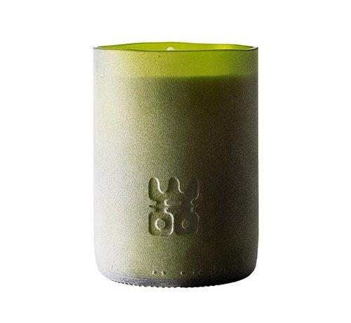 WOO WOO Lucky Candle Matt Green Extra Groot Geur:  Treasure