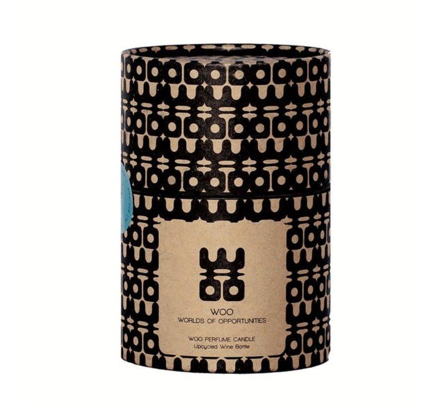 WOO Lucky Candle Matt Green Extra Groot Geur:  Treasure