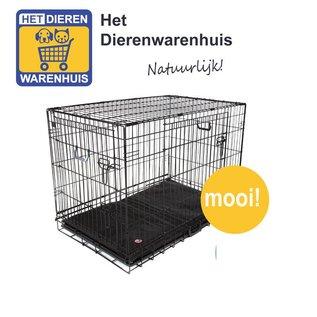 Draadkooi / Bench Middel  79x48-53 Zwart