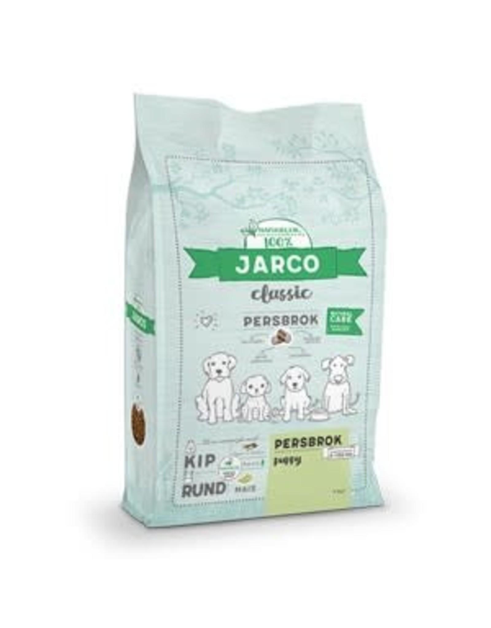 Jarco Classic Persbrok Puppy 2-100 Kg - Kip/Rund - 15Kg