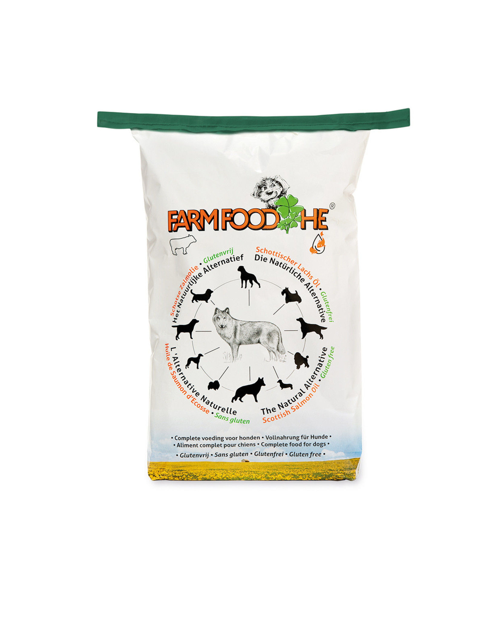 FarmFood HE- Glutenvrij 15 kg (papier)