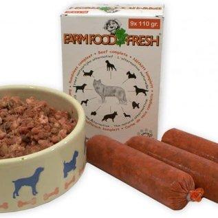 Farm Food mini worstjes  - vlees compleet - 9x110 gr.