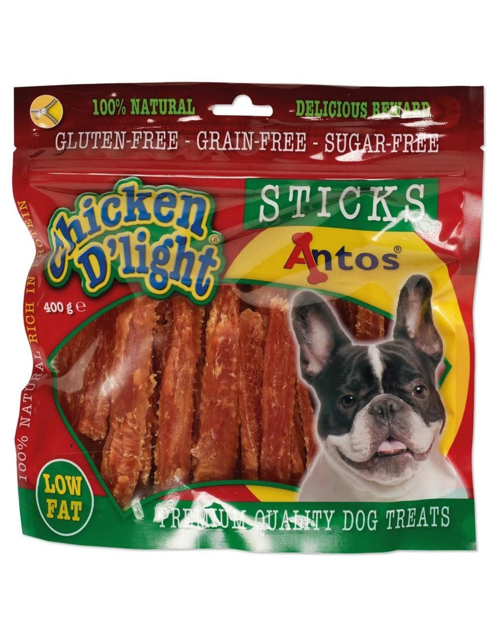 Chicken D'Light Sticks - 400 gr