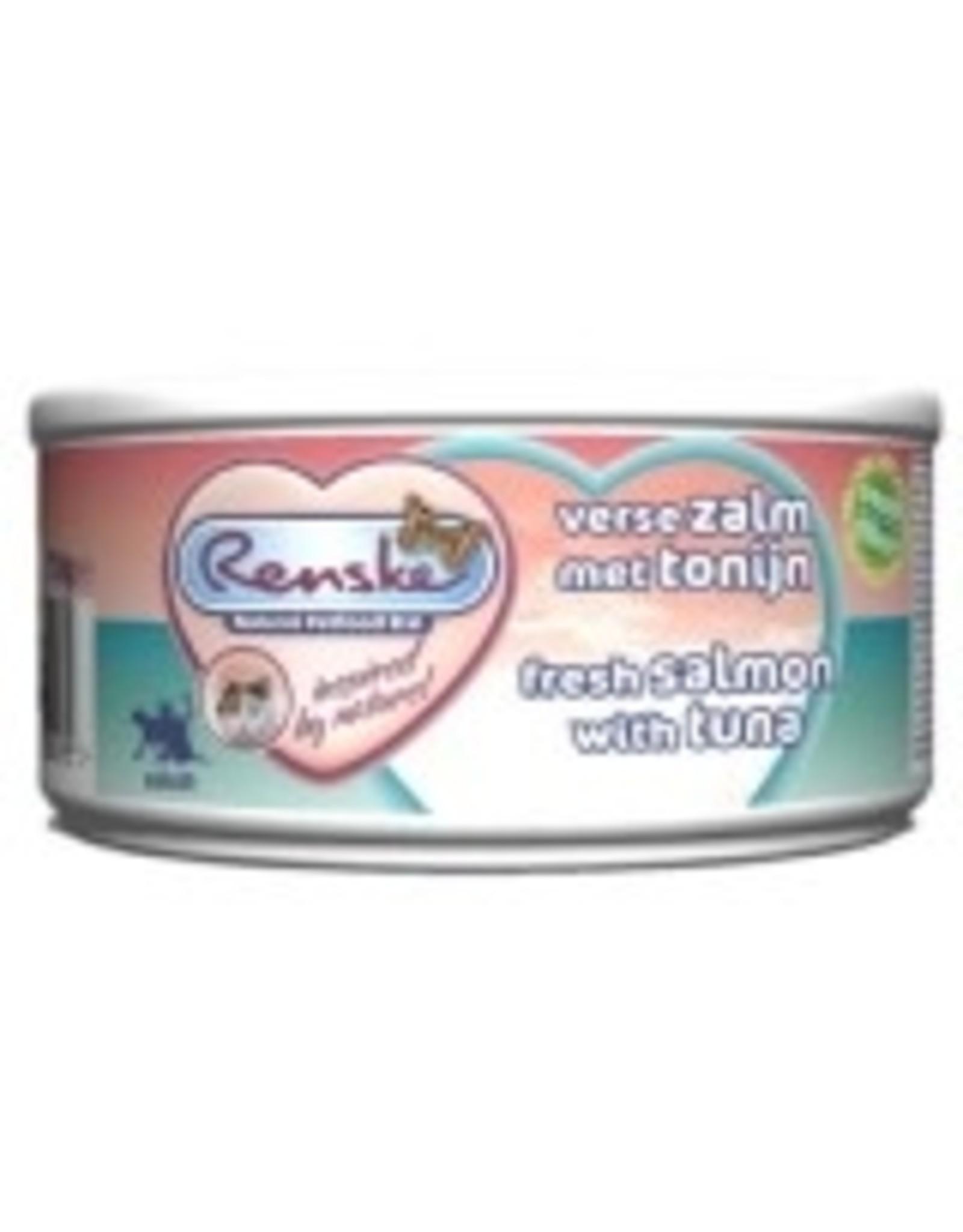 Renske Kat Tonijn+Zalm       70Gr