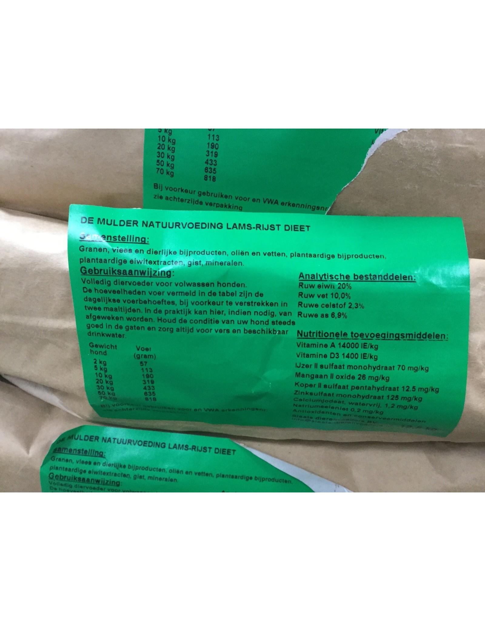 Lams-Rijst dieet DE MULDER - zak 12,5kg