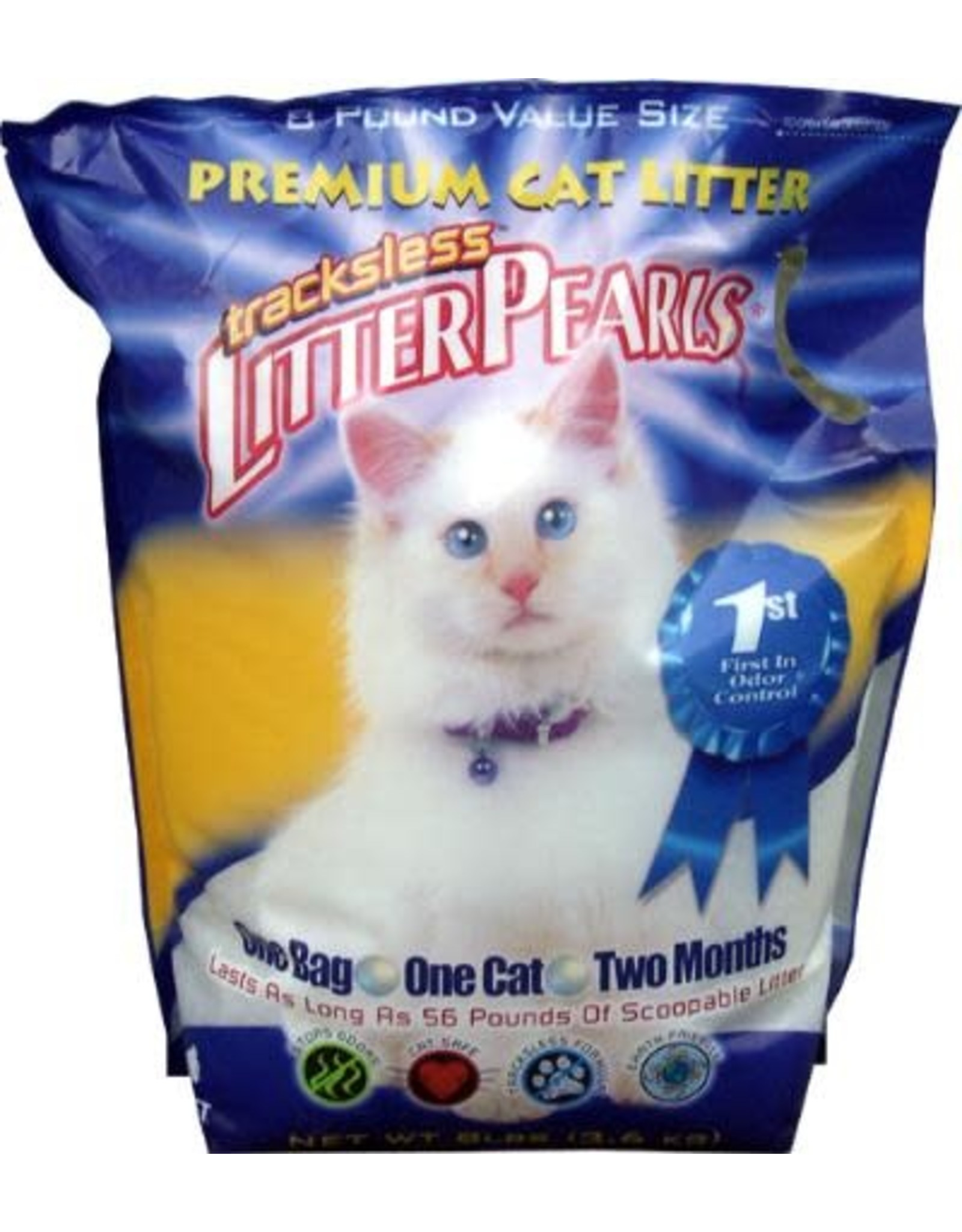 Litter Pearls Trackless   15Lb