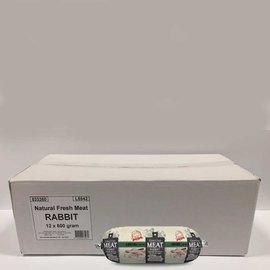 Natural Fresh Meat  Rabbit Doos 12x600gram