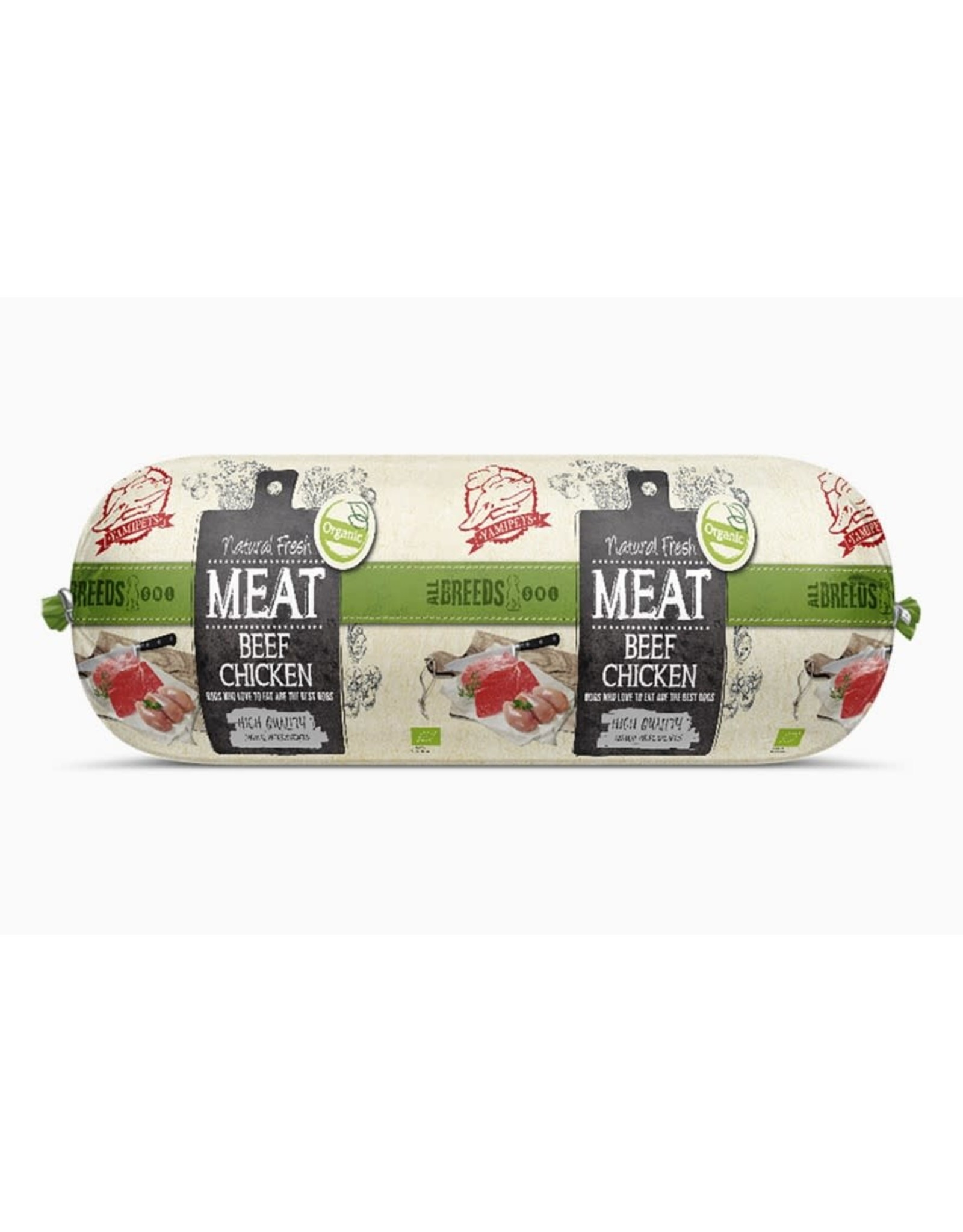 Natural Fresh Meat Organic Beef-Chicken 600gram
