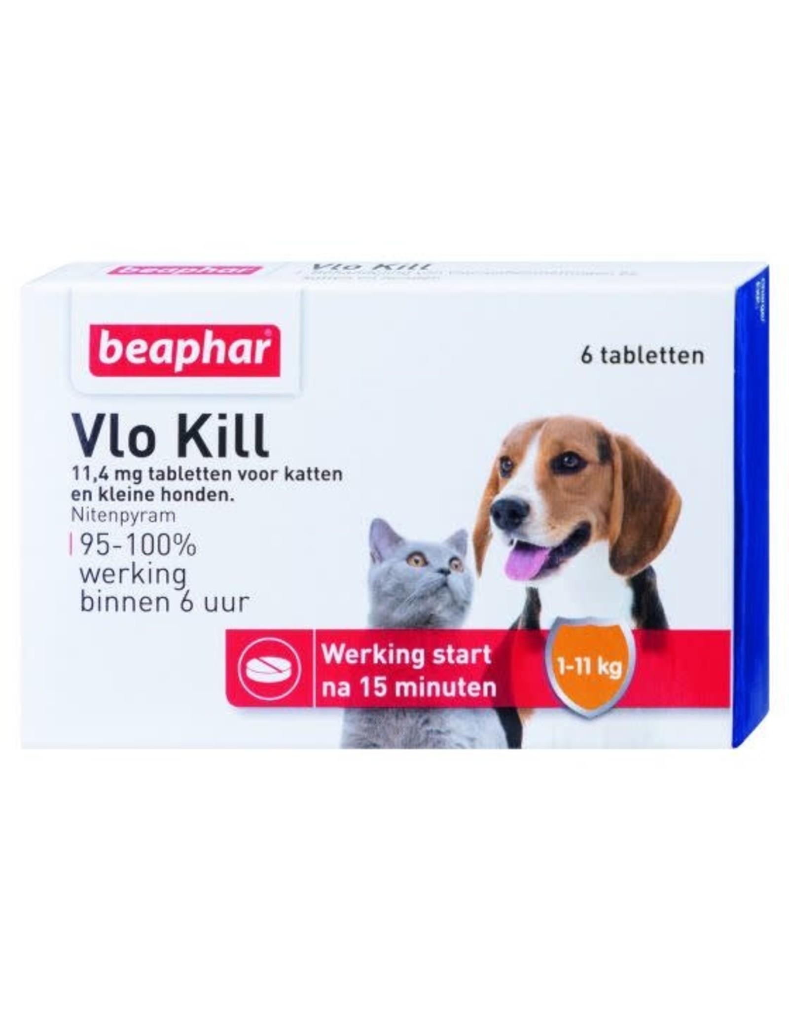 Beaphar Vlo Kill Kat&Hond Tot 11Kg