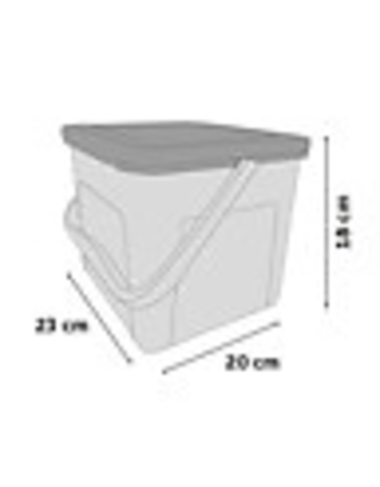 Food Container 4.5 liter