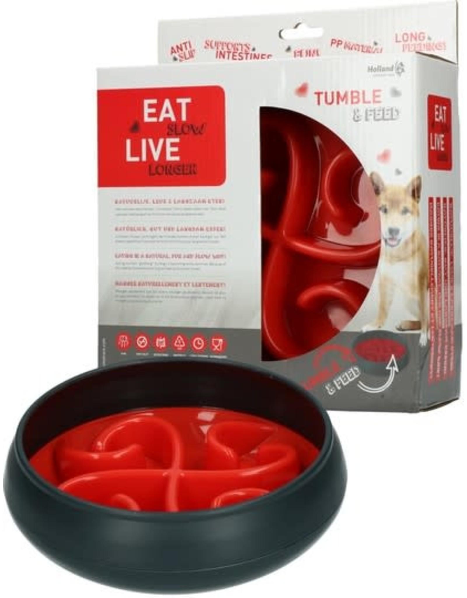 Tumble & Feed Rood