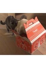 Hupple Cat House - kersthuisje