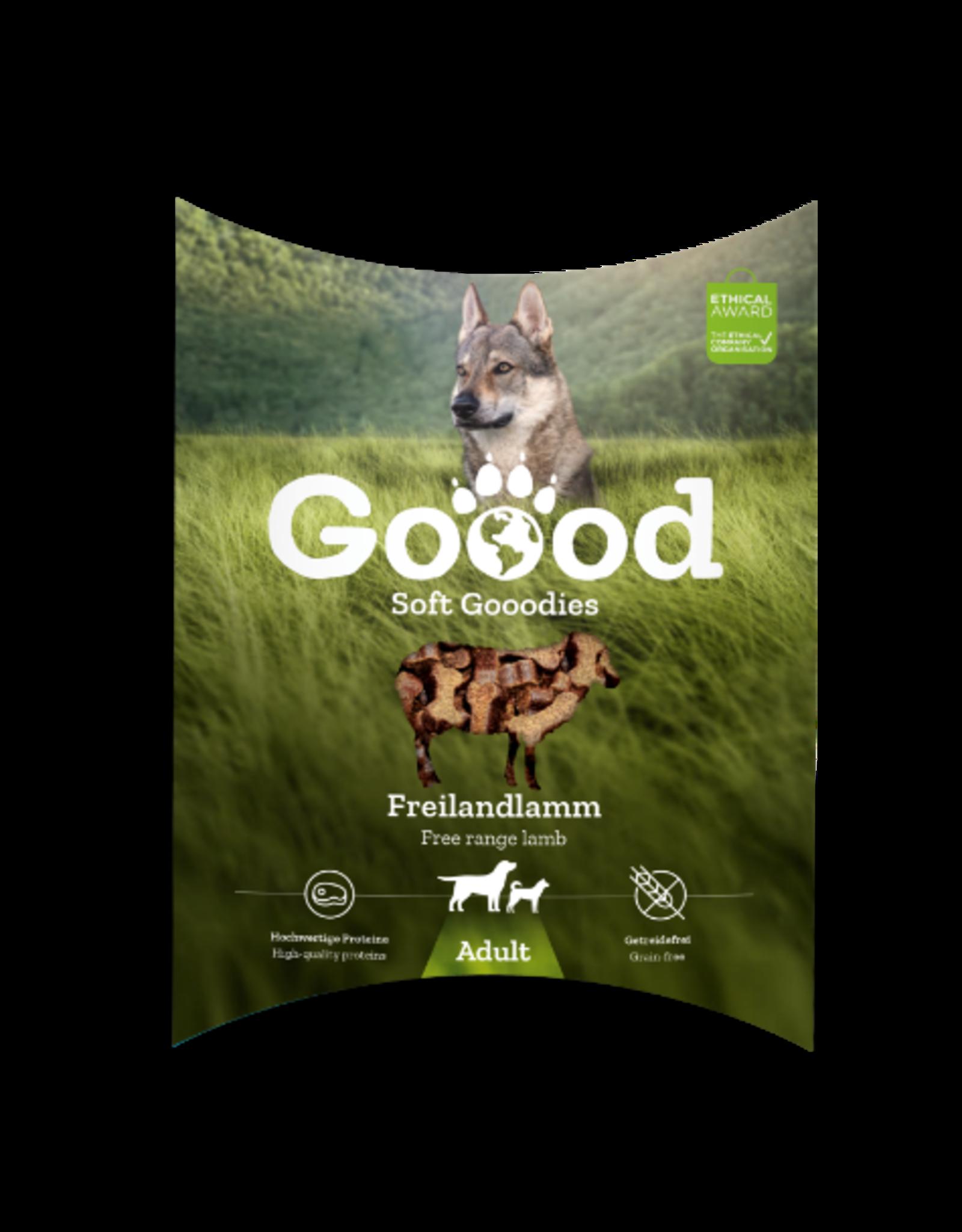 Goood Goood Soft Snack Adult Vrije uitloop lam 100 g