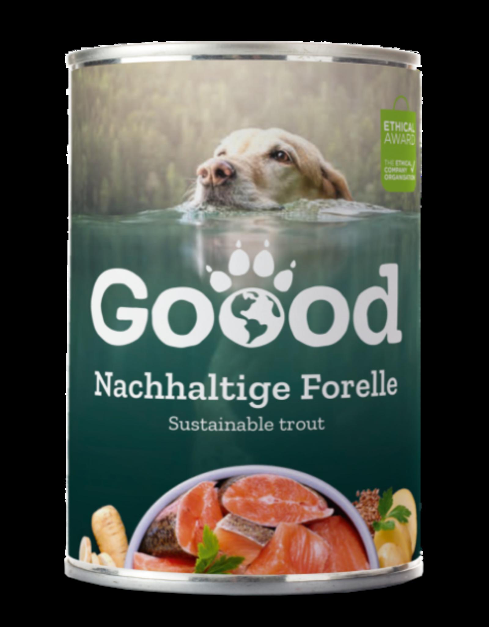 Goood Goood Adult Duurzame forel - blik 400 g
