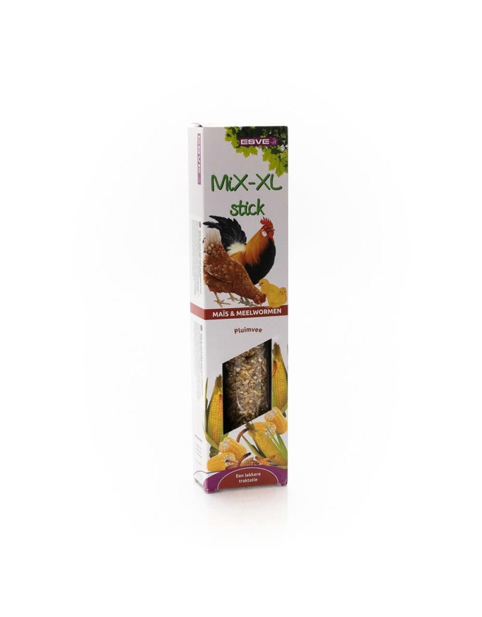 Esve Mix XL stick Kippen Mais Meelwormen