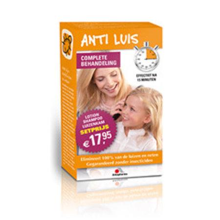 Arkopharma Anti luis combiverpakking lotion/shampoo/kam