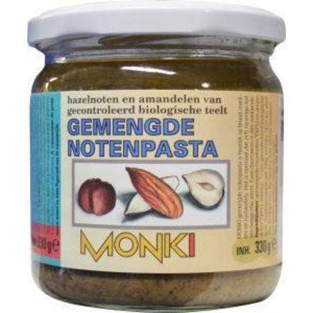 Monki Gemengde notenpasta met zout eko