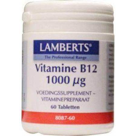 Lamberts Vitamine B12 1000 mcg (cyanocobalamine)